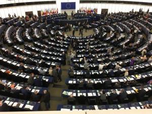 De plenêre gearkomste fan it Europeesk Parlemint yn oktober 2016